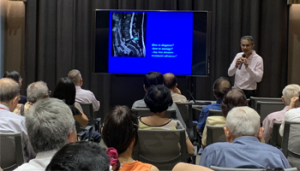 Lower Back Pain and Spondylosis – Options of Less Invasive Treatment by Dr Rajendra Tiruchelvarayan