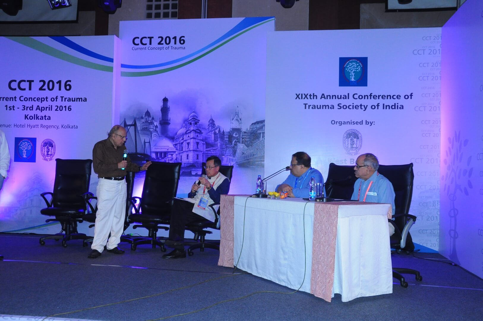 19th Annual Conference of Trauma Society of India, CCT 2016 Kolkata