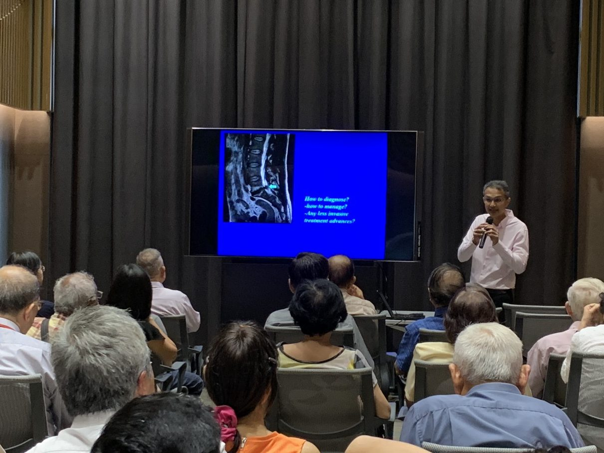 Lower Back Pain and Spondylosis-Options of Less Invasive Treatment by Dr Rajendra Tiruchelvarayan